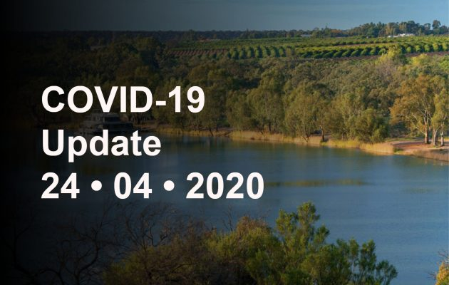 24 April COVID-19 Update - Australia is on the right track